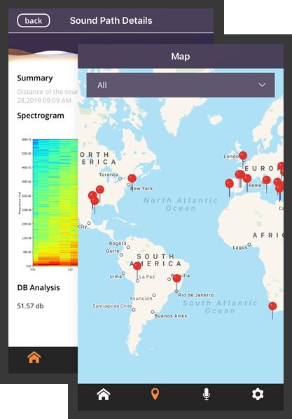 audio spectrogram app